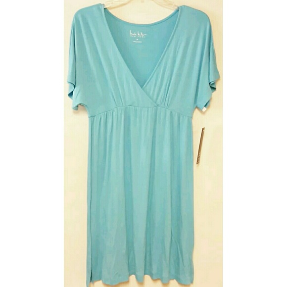 d8b1663f8b Nicole Miller Swim | New York Sky Blue Cover Up Dress | Poshmark